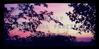 daily spiritual practice