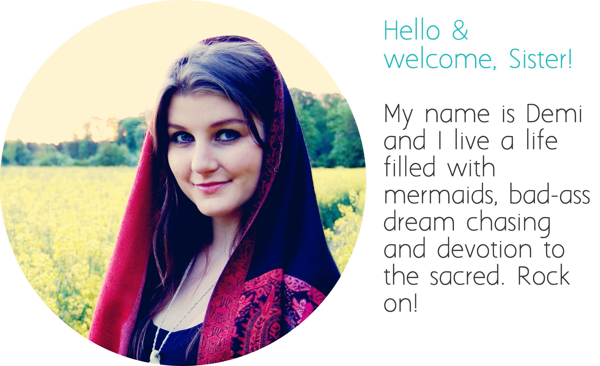 Hi! I'm Demi!